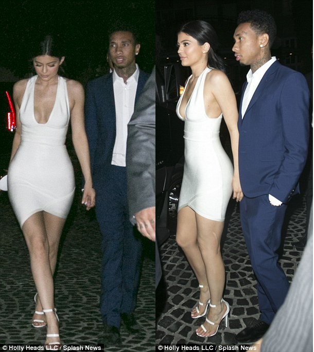 Kylie And Tyga Hold Hands