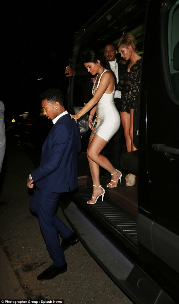 Kylie And Tyga Hold Hands3