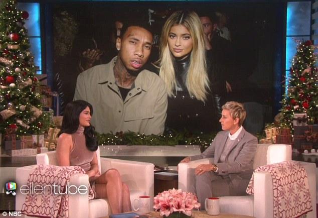 Kylie Jenner Ellen DeGeneres