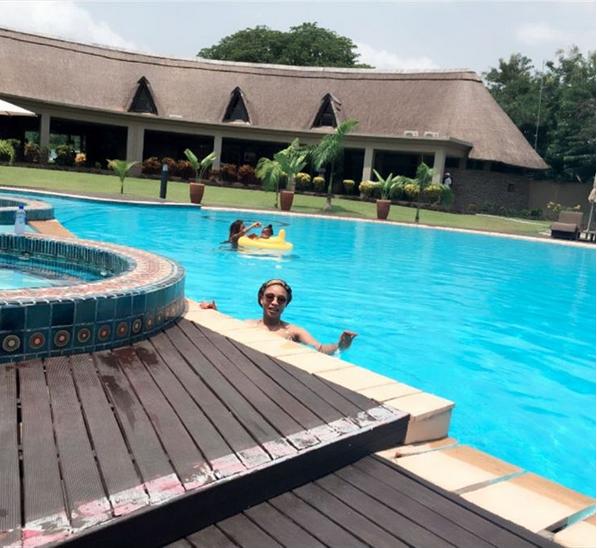 Tonto Dikeh Swim