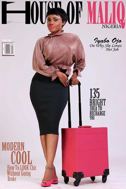 Yoruba Actress, Iyabo Ojo Covers House Of Maliq's March Edition