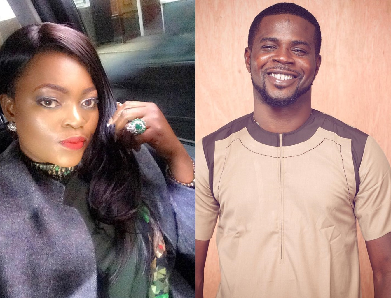 Funke Akindele and JJC