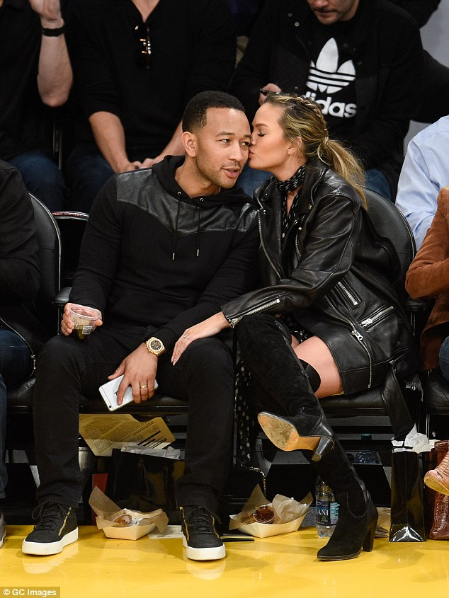 John Legend And Chrissy