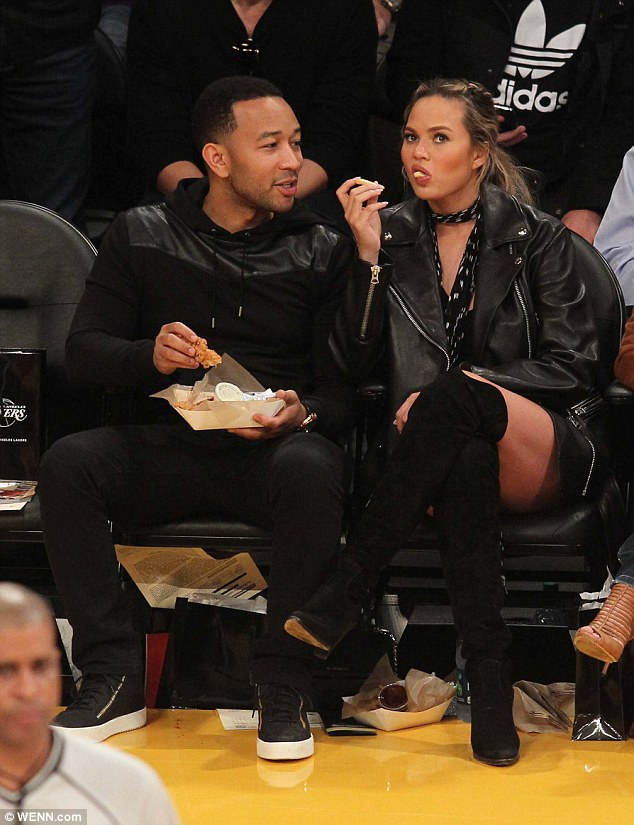 John Legend And Chrissy2
