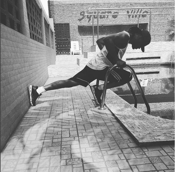 Paul Okoye Workout 1