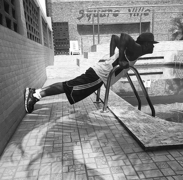 Paul Okoye Workout