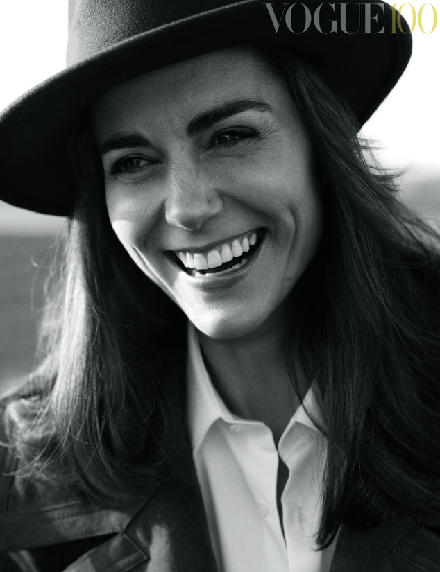 Kate Middleton British Vogue1