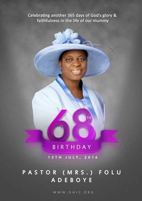 Folu Adeboye birthday1