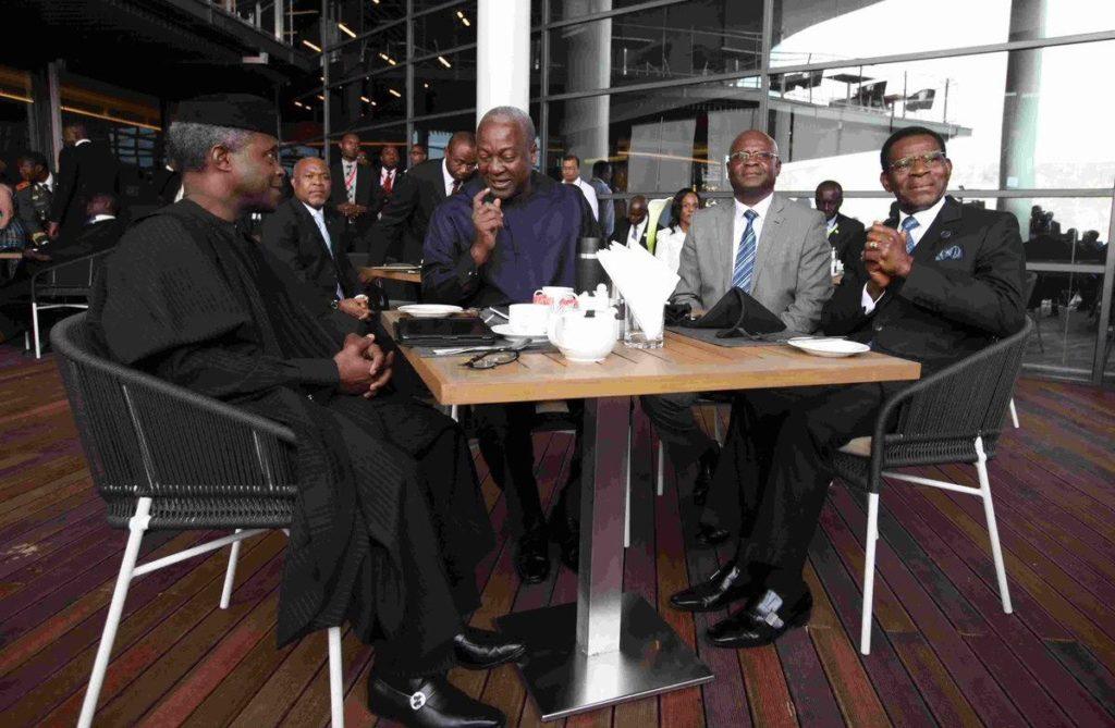 Osinbajo AU Summits1