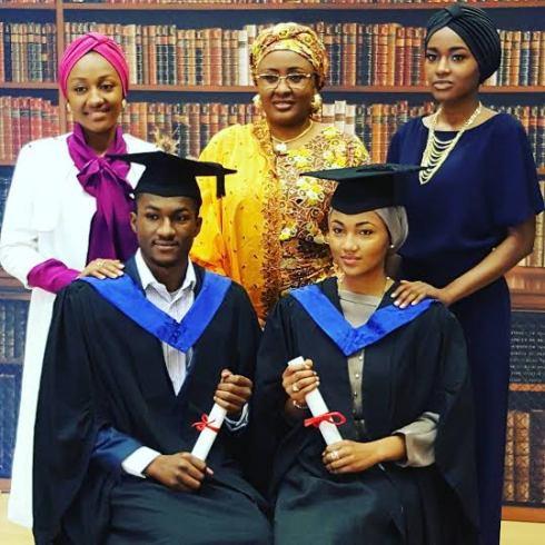 zahra and yusuf graduate