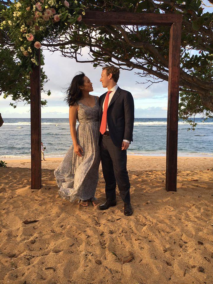 Mark zuker and wife1