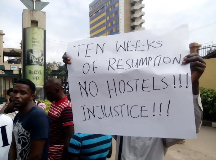 Yabatech protest