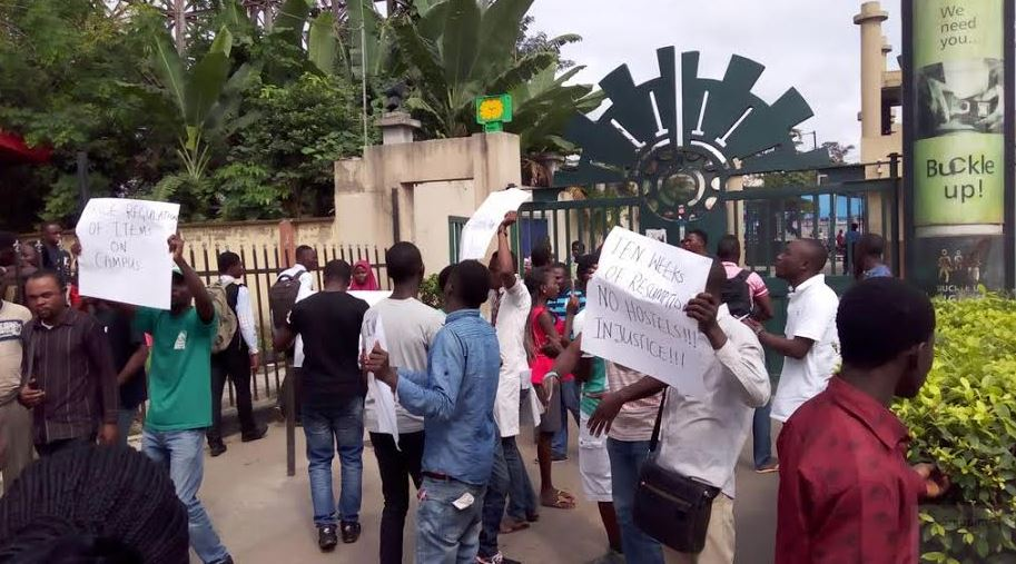 Yabatech protest1
