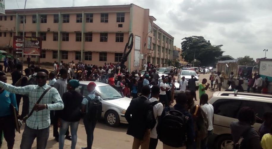 Yabatech protest3