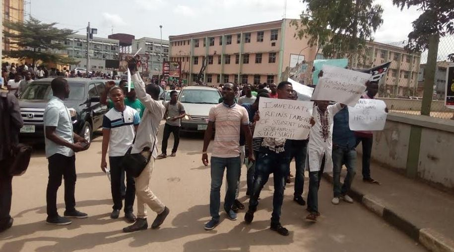 Yabatech protest4