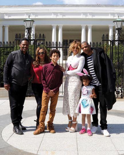 beyonce family photos