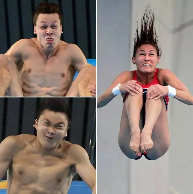 divers at olympics