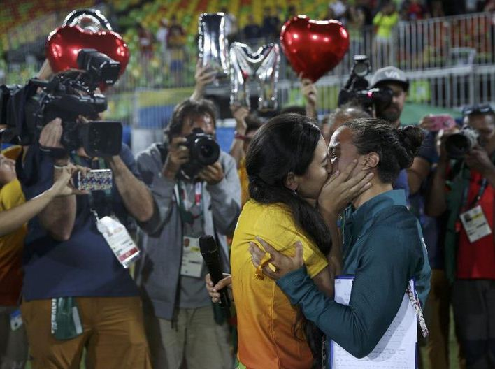 gay marriage in olympics