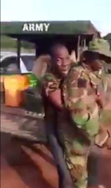 man fear soldier