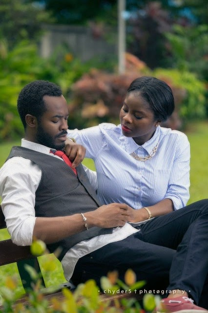 oc ukeje on set