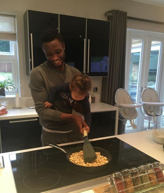 Mikel and daughter