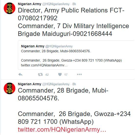Nigerian army cash reward2