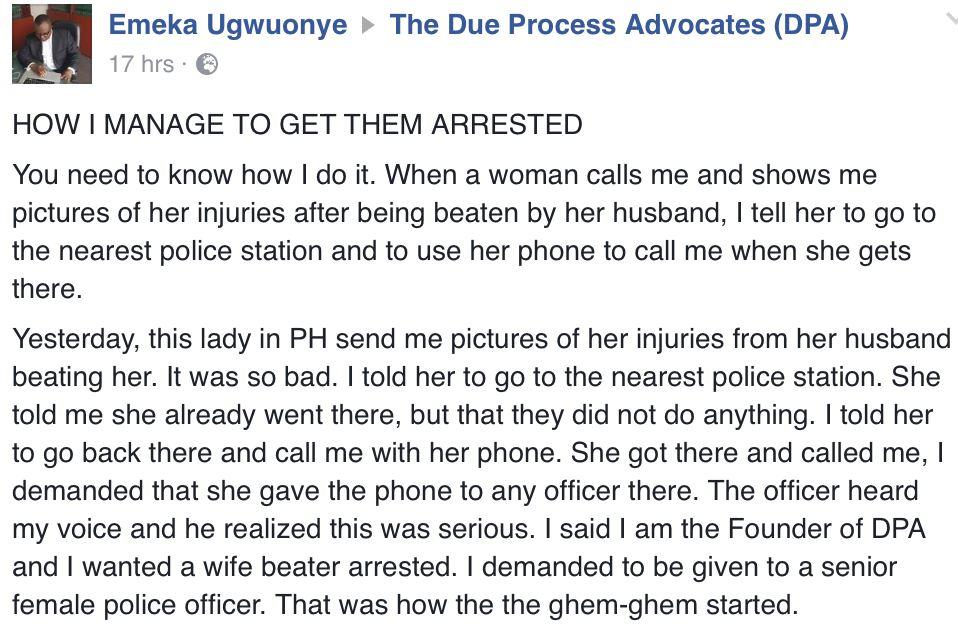 Domestic Violence victim in PH1