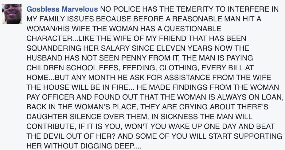 Domestic Violence victim in PH4