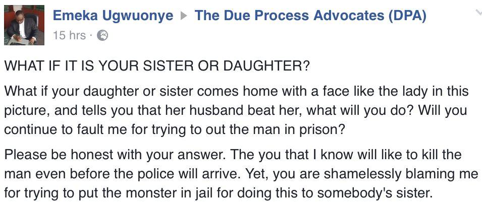 Domestic Violence victim in PH5