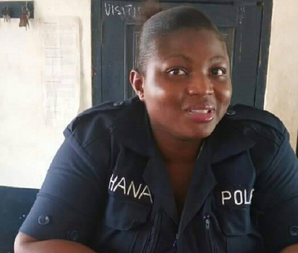 Constable Peace Agbemafo
