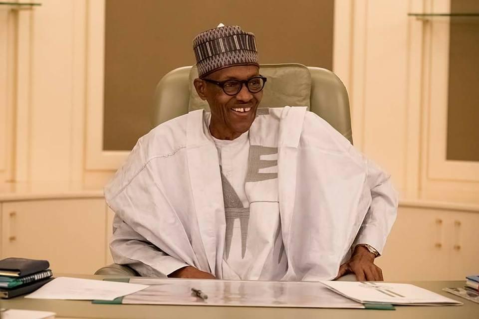 President Buhari healthy