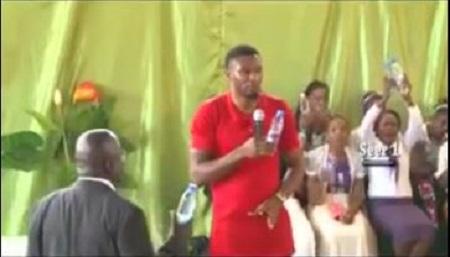 Pastor allegedly turns water into kerosene