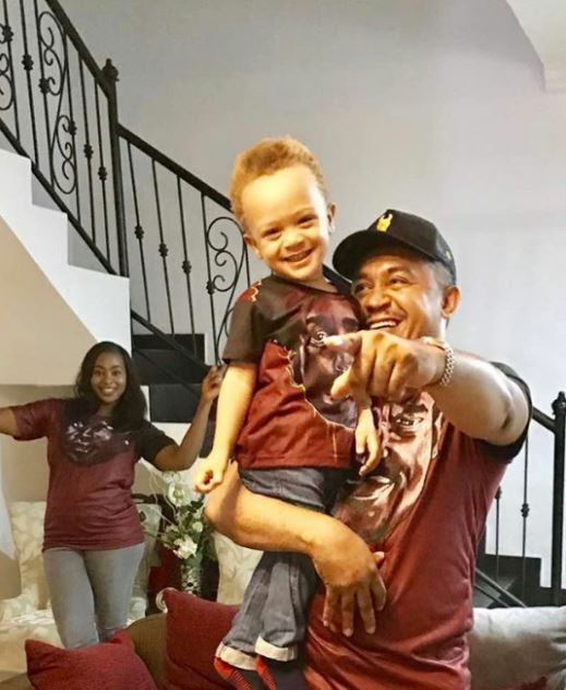 Daddy Freeze Shares Lovely Family Photos