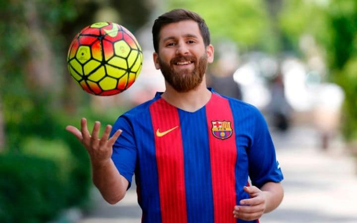 Lionel Messi's Lookalike