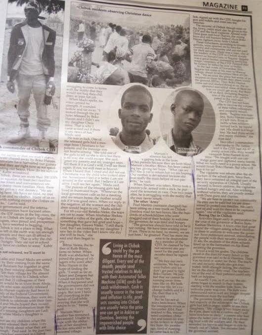 Chibok Girls Release