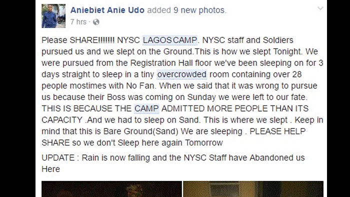 Lagos Corpers Forced