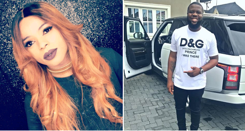 Bobrisky defends Hushpuppi