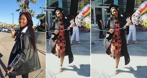 Meraiah graduates