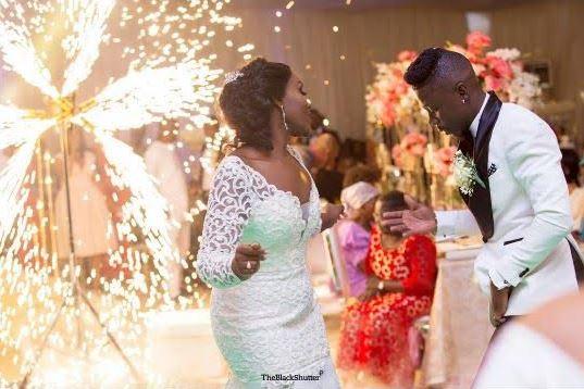 Ghanaian Singer Stonebwoy's Wedding