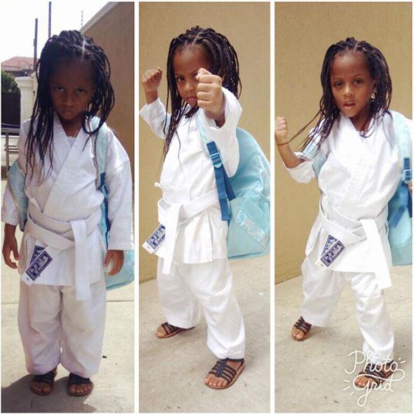 Peter Okoye's Adorable Daughter