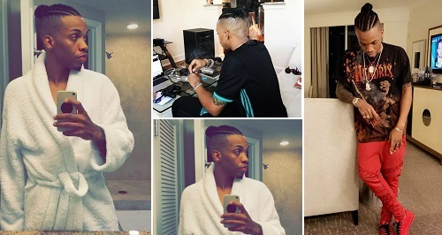 Tekno changes hairstyle