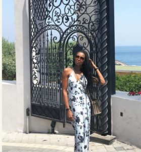Agbani Darego Danjuma Holidays In Europe