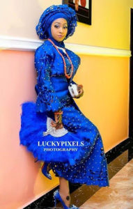 Nigerian Muslim Bride