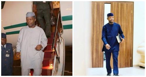 Osinbajo gives updates on Buhari's Health