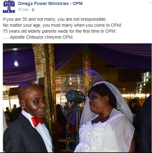Omega Power Ministries Throws Shade