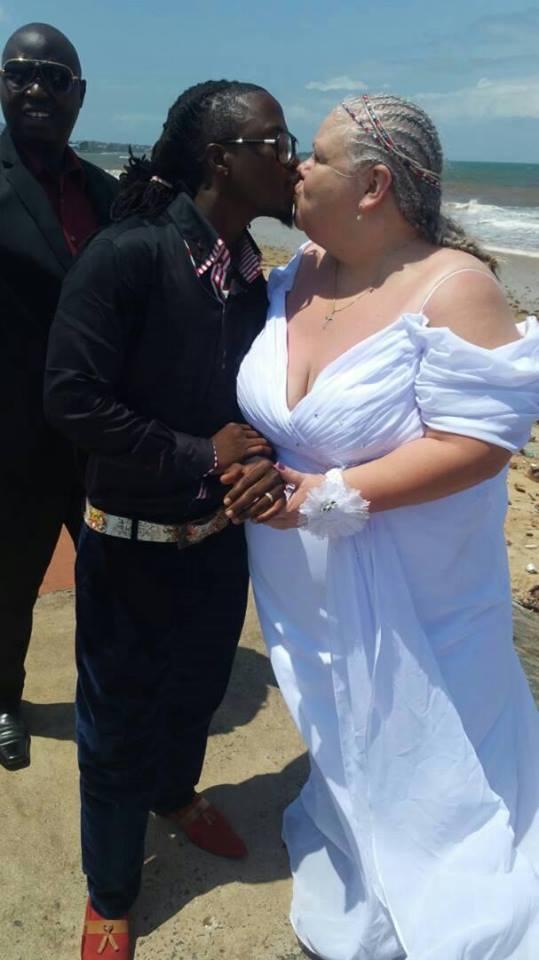 young sierra leonean singer marries older white lover