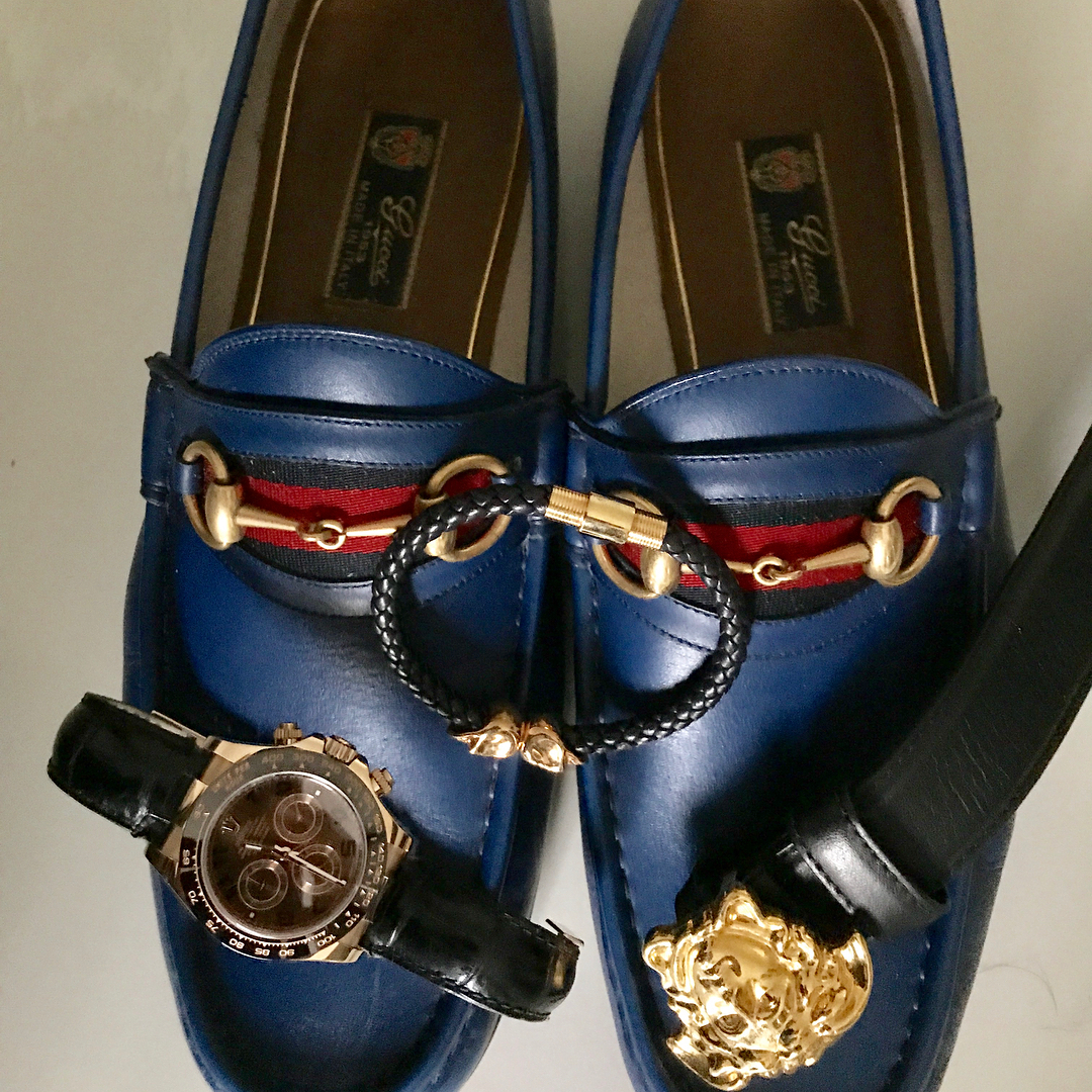 Hushpuppi Confirms Daddy Freeze Gucci Shoes