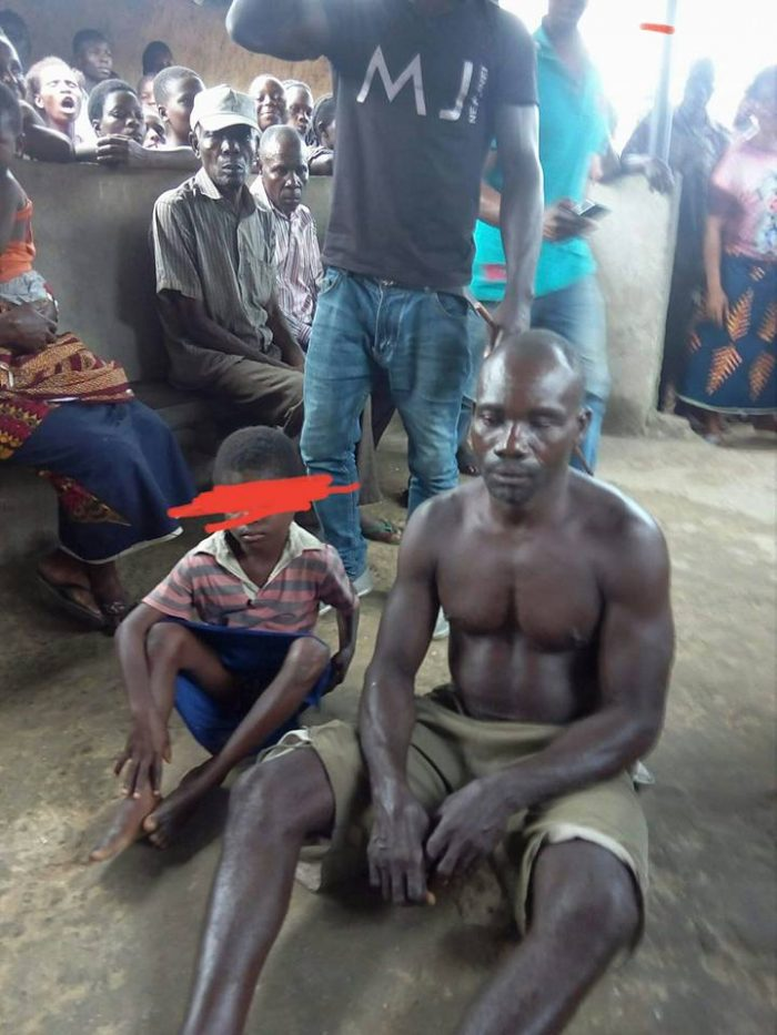 45 year old man caught raping 7 year old girl
