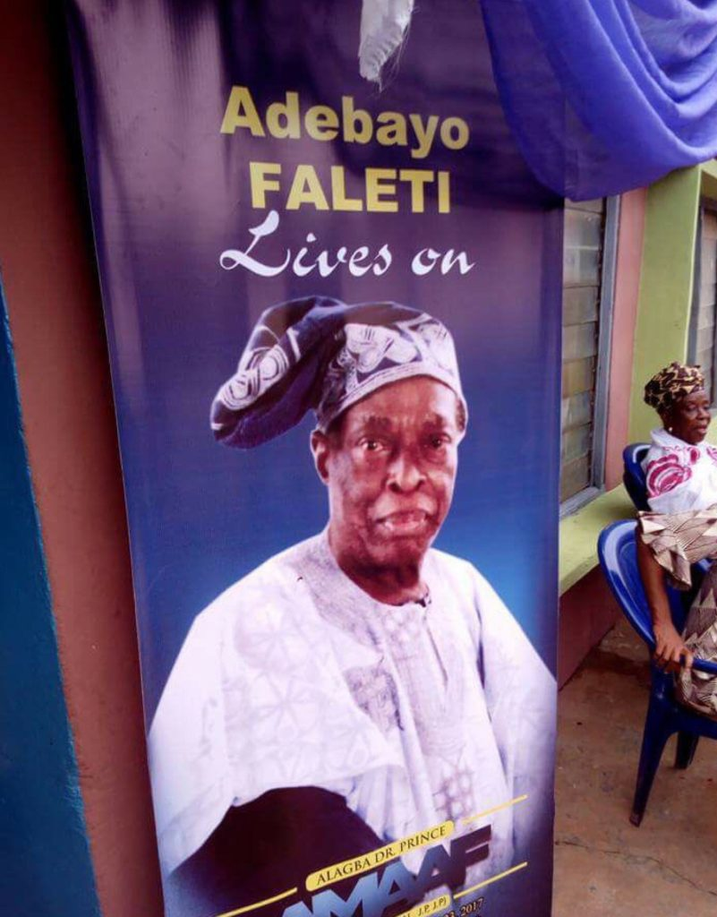 Adebayo Faleti Buried