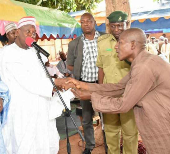 Kano State Governor Releases 350 Prisoners